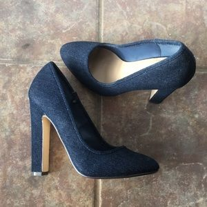 Blue Jean Pumps